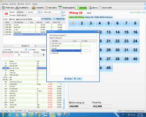 Khách sạn sử dụng phần mềm quản lý theo phòng liên hệ cài đặt