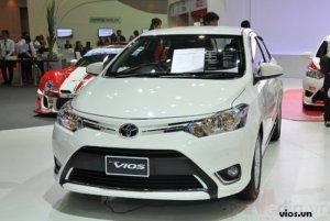 Xe Toyota Vios mới 100% màu trắng tại Đại lý Toyota 100% vốn Nhật - Toyota An Thành Fukushima