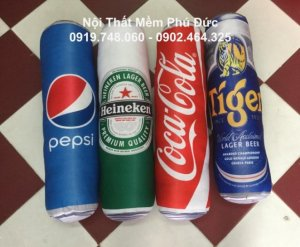 Gối ôm Coca tiện dụng và xinh xắn
