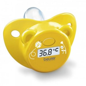 Nhiệt kế núm vú kỹ thuật số hình gấu cho bé Beurer BY20 dùng với trẻ sơ sinh và trẻ nhỏ của CHLB Đức hàng nhập khẩu chính hãng - Công ty Hợp Phát