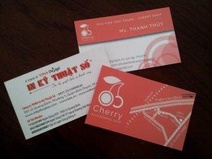 In card nhanh, in nhanh lấy liền tại TPHCM