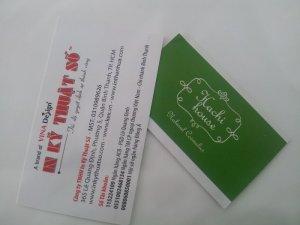 In card visit đẹp cho shop online tại In Kỹ Thuật Số