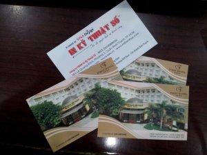 In card visit lấy ngay TPHCM