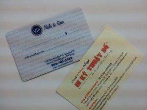 In thẻ nhựa cao cấp, thẻ VIP chất lượng cao ở TPHCM
