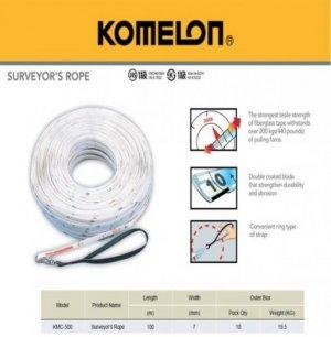 Thước nhựa sợi thủy tinh 100m KOMELON