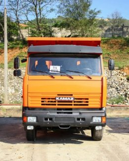 Kamaz 65115 Euro 3, Ben Kamaz 15 tấn thùng...