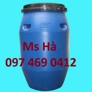 Phuy nhựa, phuy sắt mới,cũ chất lượng nhất, giá rẻ nhất tại TP.HCM