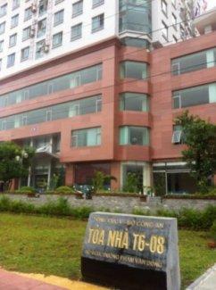 Cho thuê phòng tại CCCC Bộ Công An, đường Phạm Văn Đồng