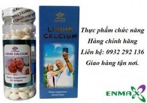 Liquid Calcium bổ sung canxi dạng viên nang...