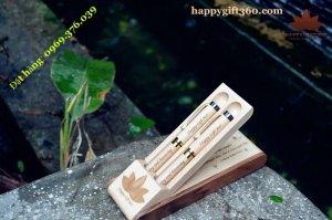 Bút gỗ may mắn - happygift360