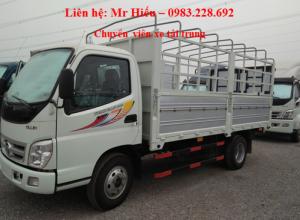 Xe tải ollin 5 tấn Ollin 500B mui bạt