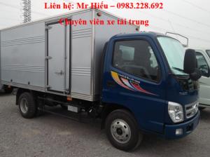 Xe tải ollin 5 tấn Ollin 500B thùng kín