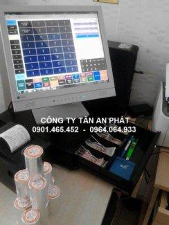 Máy bán hàng cảm ứng cho Nhà Hàng tại Vĩnh Long An Giang Đồng Tháp