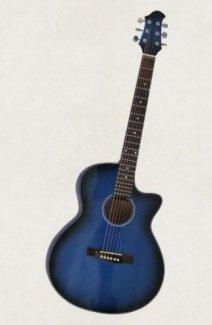 Acoustic guitar Việt Nam DVE85 màu đẹp