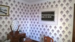Dịch vụ Sơn Hoa Văn trang trí nội thất