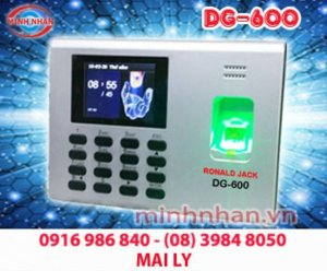 Máy chấm công vân tay RJ DG600 giá khuyến mãi hấp dẫn