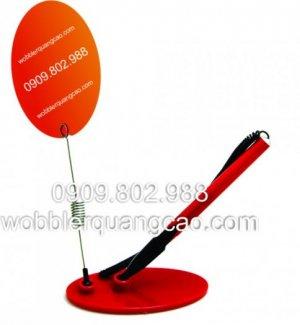 Wobbler bút viết, wobbler đa năng, Wobbler, wobbler quảng cáo,in wobbler, sản xuất wobbler, wobbler nhựa, wobbler để bàn