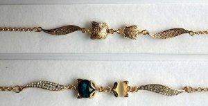 Vòng tay pha lê Swarovsky mạ vàng