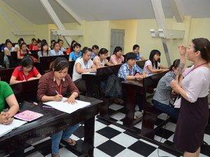 Chương trình đào tạo nghiệp vụ sư phạm giáo dục mầm non, cấp chứng chỉ.