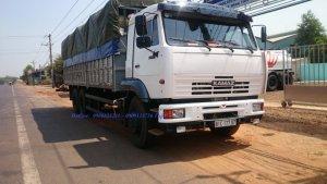 Xe tải thùng Kamaz 65117 mới tại Bình Phước