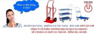 Kiểu xe: xe đẩy tay 4 bánh  Kích thước : 450 x 700 x 820mm  Cự ly sàn xe: 160mm  Tải trọng: 150kg  Trọng lượng 11kg