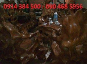 Bán bộ bàn ghế Lũa Lim cho đại gia, nhà vườn, biệt thự (miễn trung gian)