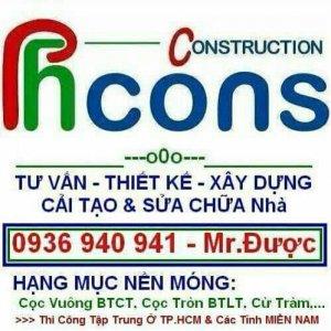Nhận thi công xây dựng nhà ở dân dụng tại HCM và Miền Nam