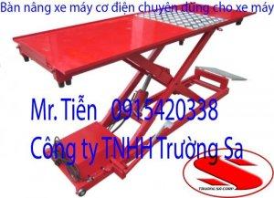 Chuyên cung cấp bàn nâng xe máy, bàn nâng cơ điện giá rẻ.