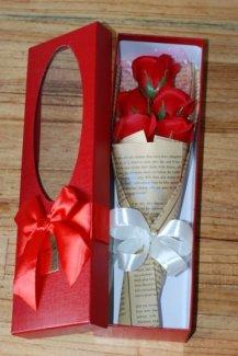 Hoa hồng sáp thơm 5 bông