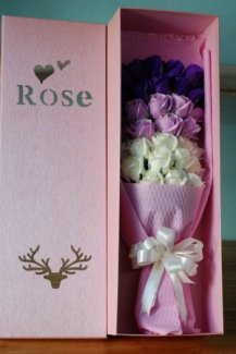 Hoa hồng sáp thơm cao cấp 33 bông