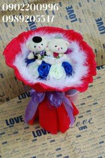 hoa gấu bông giá rẻ sỉ và lẻ, giao hàng toàn quốc