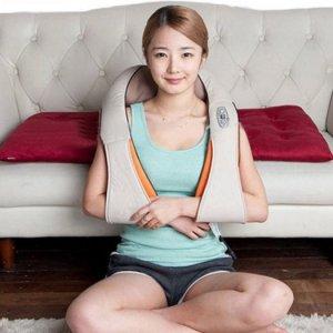 Máy massage chuyên sâu vai cổ gáy có đèn hồng nngoại,đai đem giảm mỡ bụng Vibroshape