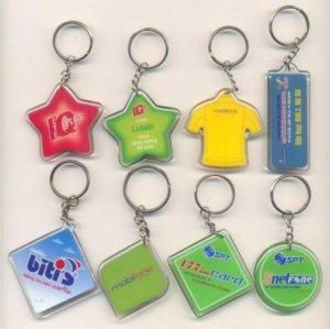 Móc khóa, móc khóa giá rẻ, quạt nhựa quảng cáo