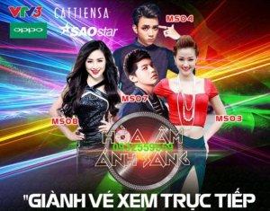 Vé Gala Trao Giải The Remix Hòa Âm Ánh Sáng 27/3/2016