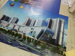 In backlit film cao cấp cho trung tâm môi giới nhà đất, giới thiệu dự án nhà đất tại Thảo Điền - Quận 2   Phông nền rực rỡ dưới ánh đèn in với chất liệu backlit film sẽ là vật phẩm trang trí đẹp và thu hút cho showroom, công ty, văn phòng của bạn