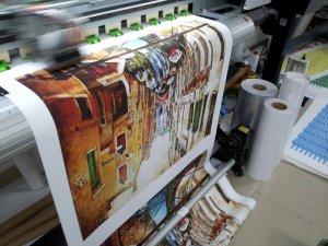 In canvas giá rẻ | In tranh canvas mực nước trên máy khổ 1.8m, in số lượng lớn cho đại lý tranh treo tường phòng khách | Đặt in nhanh tại In Kỹ Thuật Số khi gửi email đặt in về innhanh@inkythuatso.com