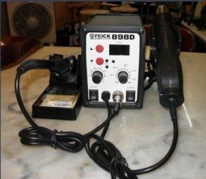 Máy khò nhiệt & hàn thiếc FEICK SMD-898D