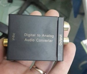 Hộp chuyển audio quang OPTICAL ra AV ( Audio Alalog) chất lượng tốt giá rẻ