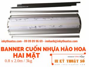 Standee cuốn | Giá cuốn | Chuyên cung cấp standee cuốn TPHCM