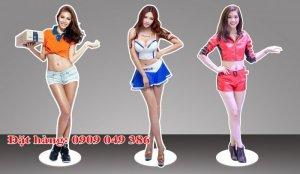 Sản xuất mô hình người 3d quảng cáo