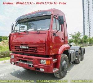 Xe đầu kéo Kamaz 6460 (6x4) 53 tấn