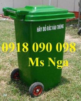 Sản xuất thùng rác composite,thùng đựng rác composite 120 lít, 240 lít