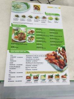 In menu cho quán nướng Giấy Bạc | Cuốn menu thiết kế với 2 tông màu chủ đạo là xanh lá cây nhạt và trắng tương ứng với màu chủ đạo tại quán nướng | Loại hình in: PP cán màng mờ, bồi format