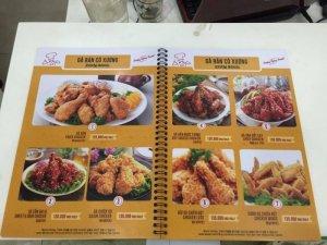In menu giá rẻ | In menu giá rẻ TPHCM