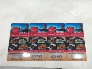 In nhanh menu | In menu nhanh giá rẻ