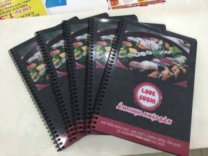 In menu cho nhà hàng Love Sushi - Ẩm thực Nhật Bản | In menu số lượng ít tại TPHCM cùng các tỉnh tại 365 Lê Quang Định, P.5, Q.Bình Thạnh, Tp.HCM. Liên hệ đặt in nhanh menu qua innhanh@inkythuatso.com