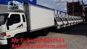 Hyundai hd72 3,5 tấn đông lạnh