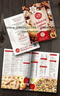 Thiết kế menu, thiết kế menu sáng tạo, in ấn menu giá rẻ