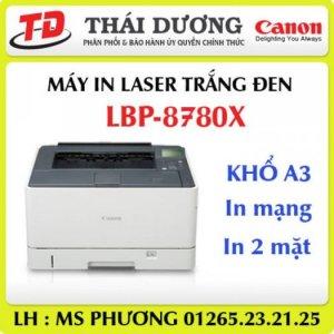 Máy in Canon LBP8780X, in trắng đen A3, in 2 mặt, in mạng giá tốt