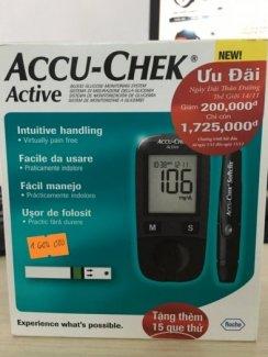 Máy Đo Đường Huyết Accu-Chek Active New